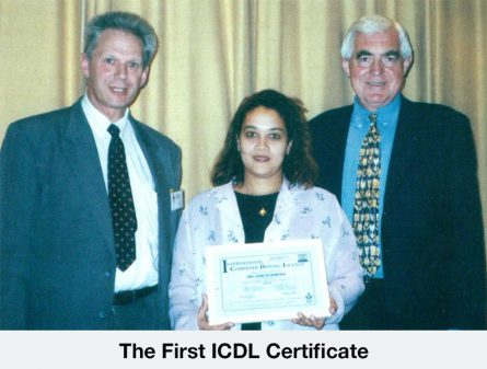 The International Computer Driving Licence (ICDL) is launched